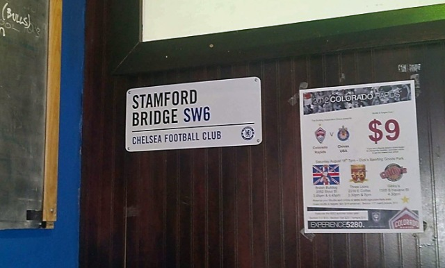 Welcome to Stamford Bridge West!