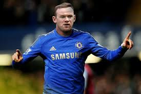 Rooney in Blue? He's still ugly.