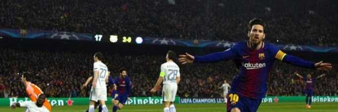 Barca beats Chelsea in UCL